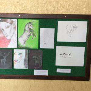 Vernisáž výstavy žáků 9. ročníku