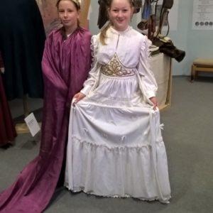 Její Veličenstvo Žaneta z Deblína se svým pážetem