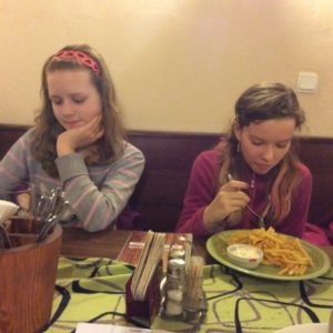 Večeře v restauraci Plzeňský Trpaslík