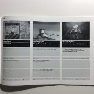 Anotace filmů ve festivalovém katalogu