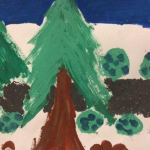 Výtvarná řada les