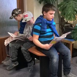 Návštěva obecní knihovny v Deblíně