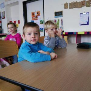 MŠ Krteček v 1. třídě