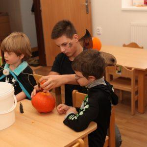 Halloween MŠ Oranžová