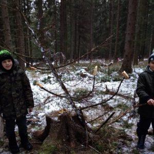 3. lesní výprava 3. třídy