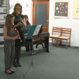 Hra na zobcovou flétnu