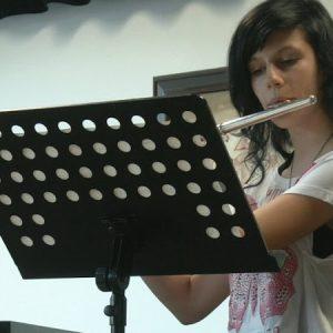 Hra na příčnou flétnu