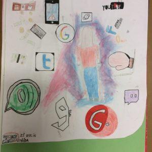 Plakát k tématu Kyberšikana