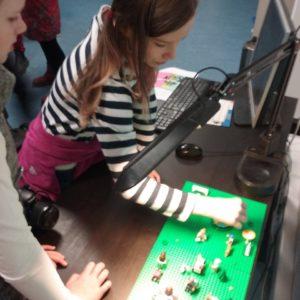 Otevřená dílna LEGO - ainmace