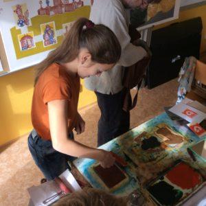 Grafický workshop s Milošem Slámou