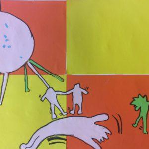 Koláže podle Keitha Haringa