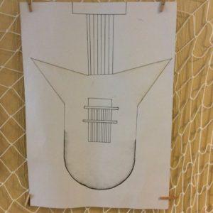 Návrh elektrické kytary