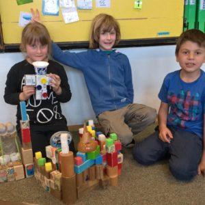Centra aktivit 1. třída: Objevy a vynálezy - Maty, Vincík a Katuška