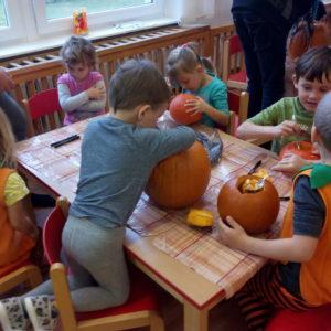 Halloween MŠ Maršov