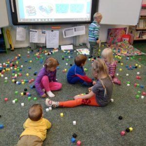 Matematika hrou - 4. adaptační setkání s předškoláky