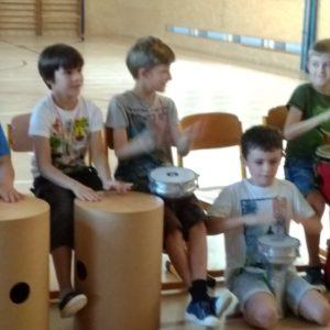 workshop bubnování