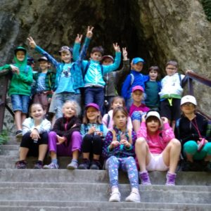 výlet Kateřinská jeskyně