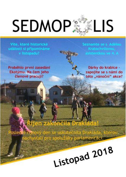 časopis Sedmopolis - listopad 2018