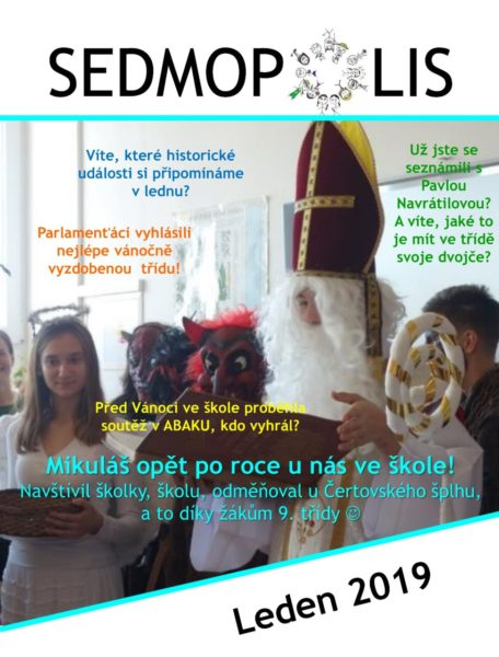 časopis Sedmopolis - leden 2019