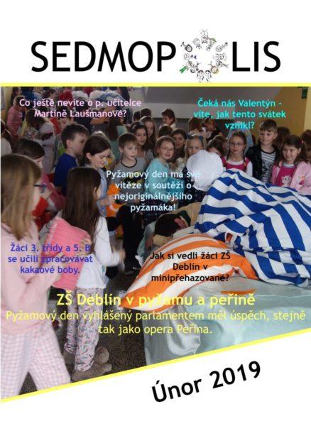 časopis Sedmopolis - únor 2019