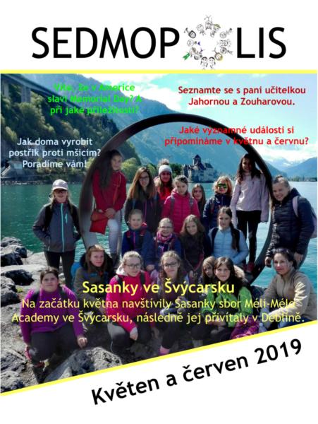 časopis Sedmopolis - květen a červen 2019