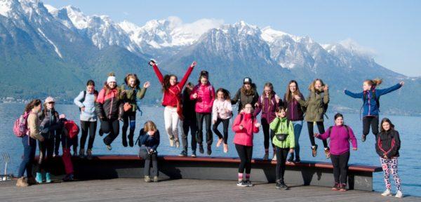 Pěvecký sbor Sasanky ve Švýcarsku