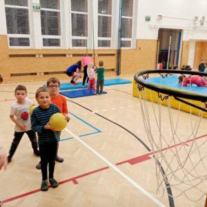 Adaptační skupinky pro předškoláky Pohyb nás baví