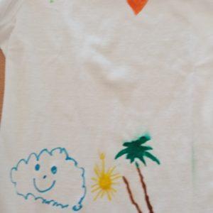 Tričko s kresbou