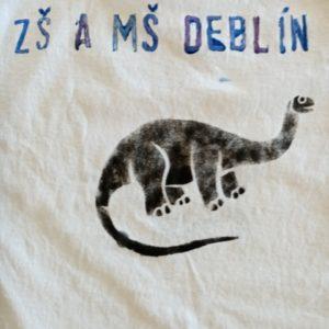 Dinosauři na triku jsou populární