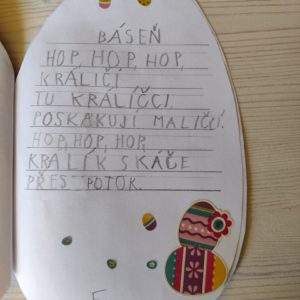 velikonoční básnička