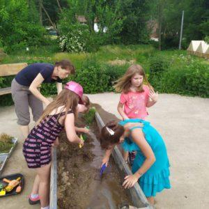 Budujeme koryto řeky