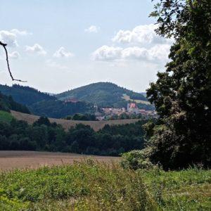 Výhled na Lomnici